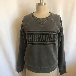 Zadig & Voltaire Sm grey Nirvana sweatshirt EUC